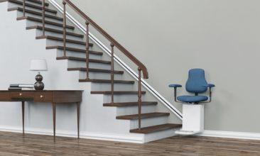 Un salva escaleras para la fundación